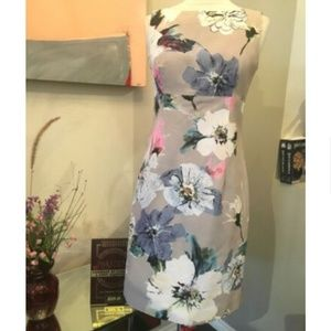 Milly Floral Sheath Dress 1615-3-92319